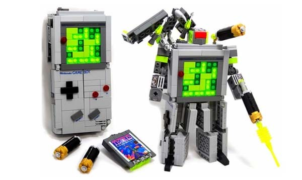 'Bricked' Game Boy is more than meets the eye, uses Legos to transform
