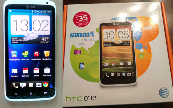 HTC One X sold early at AT&T