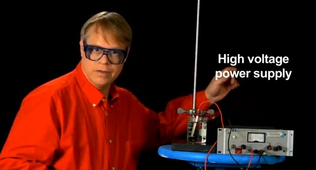 Anodizing aluminum and titanium explained and demonstrated in less than five minutes (video)