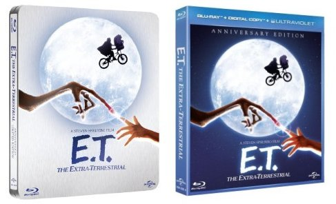 E.T.: The Extra-Terrestrial Blu-ray trailer and box art pop up online (video)
