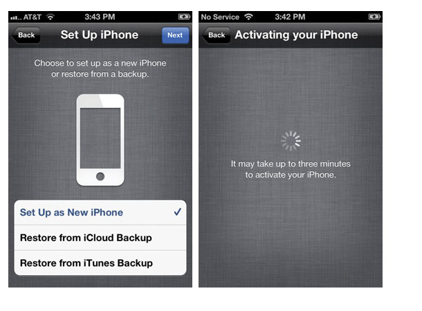 setup activate iphone How to jailbreak your iPhone or iPad running iOS 5.1.1 using Absinthe