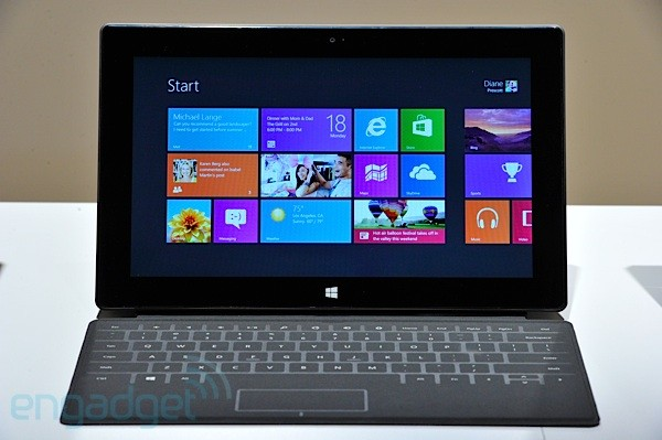 Microsoft Surface for Windows RT hands-on