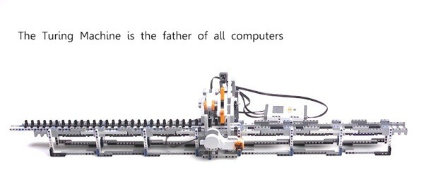 Alan Turing's breakthrough machine gets a loving Lego tribute