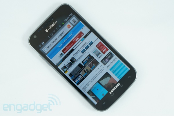 Android 403 now available for TMobile Galaxy S II, get it while it's cold