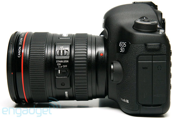 Canon updates 5D mark III firmware, concedes it wont get continuous autofocus for video