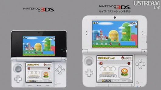 Nintendo announces extra large 3DS LL with 488inch top screen